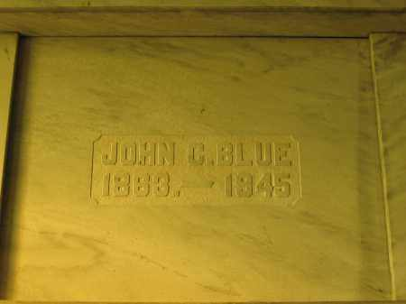 BLUE, JOHN C. - Union County, Ohio | JOHN C. BLUE - Ohio Gravestone Photos