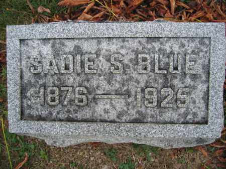 BLUE, SADIE S. - Union County, Ohio | SADIE S. BLUE - Ohio Gravestone Photos