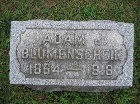 BLUMENSCHEIN, ADAM J. - Union County, Ohio | ADAM J. BLUMENSCHEIN - Ohio Gravestone Photos