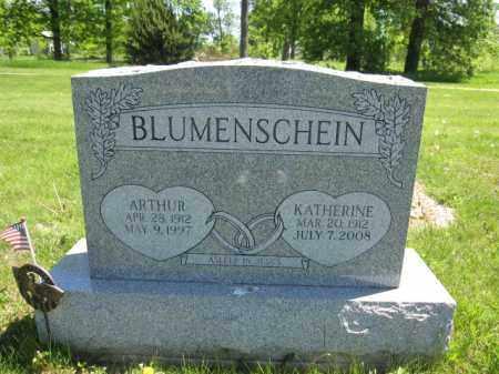 BLUMENSCHEIN, ARTHUR - Union County, Ohio | ARTHUR BLUMENSCHEIN - Ohio Gravestone Photos