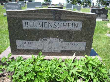 BLUMENSCHEIN, CLARA M. - Union County, Ohio | CLARA M. BLUMENSCHEIN - Ohio Gravestone Photos