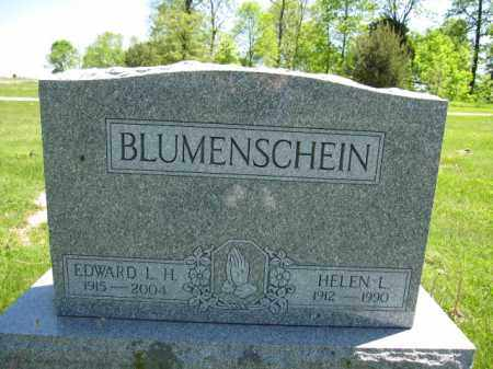 BLUMENSCHEIN, HELEN L. - Union County, Ohio | HELEN L. BLUMENSCHEIN - Ohio Gravestone Photos