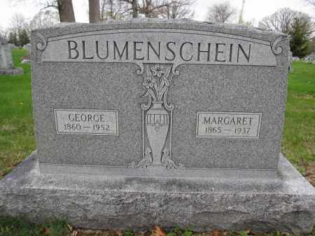 BLUMENSCHEIN, GEORGE - Union County, Ohio | GEORGE BLUMENSCHEIN - Ohio Gravestone Photos