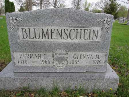BLUMENSCHEIN, HERMAN C. - Union County, Ohio | HERMAN C. BLUMENSCHEIN - Ohio Gravestone Photos