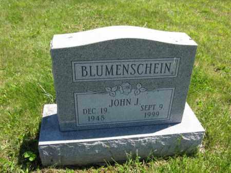 BLUMENSCHEIN, JOHN J - Union County, Ohio | JOHN J BLUMENSCHEIN - Ohio Gravestone Photos