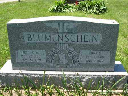 BLUMENSCHEIN, EDNA M. - Union County, Ohio | EDNA M. BLUMENSCHEIN - Ohio Gravestone Photos