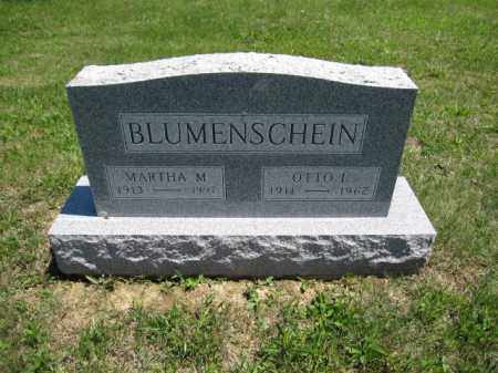 BLUMENSCHEIN, MARTHA M. - Union County, Ohio | MARTHA M. BLUMENSCHEIN - Ohio Gravestone Photos