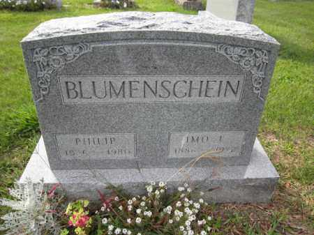 BLUMENSCHEIN, IMO E. MYERS - Union County, Ohio | IMO E. MYERS BLUMENSCHEIN - Ohio Gravestone Photos