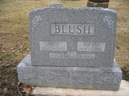 BLUSH, RHODA - Union County, Ohio | RHODA BLUSH - Ohio Gravestone Photos