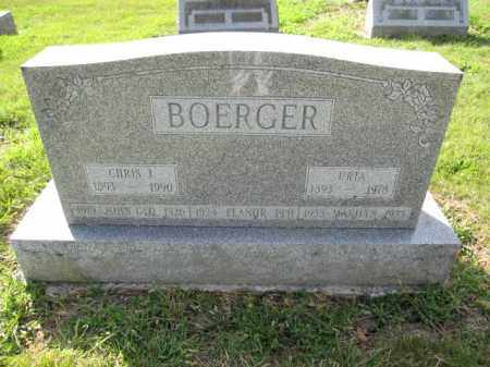 BOERGER, JOHN GEORGE - Union County, Ohio | JOHN GEORGE BOERGER - Ohio Gravestone Photos