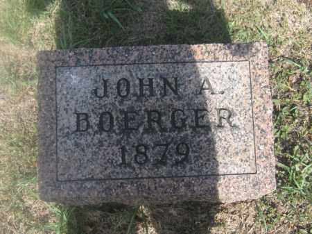 BOERGER, JOHN A. - Union County, Ohio | JOHN A. BOERGER - Ohio Gravestone Photos