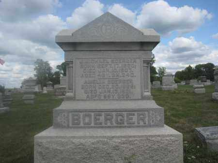 BOERGER, J. MICHAEL - Union County, Ohio | J. MICHAEL BOERGER - Ohio Gravestone Photos