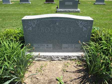 BOERGER, LEO P. - Union County, Ohio | LEO P. BOERGER - Ohio Gravestone Photos