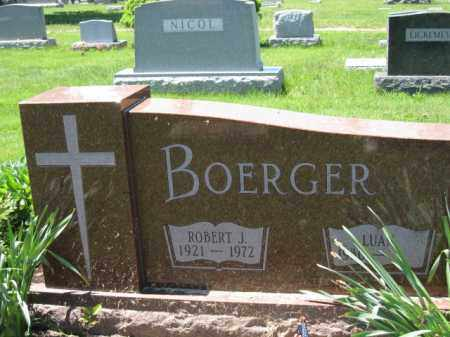 BOERGER, ROBERT J. - Union County, Ohio | ROBERT J. BOERGER - Ohio Gravestone Photos