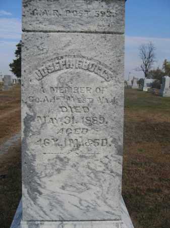 BOGGS, JOSEPH F. - Union County, Ohio | JOSEPH F. BOGGS - Ohio Gravestone Photos