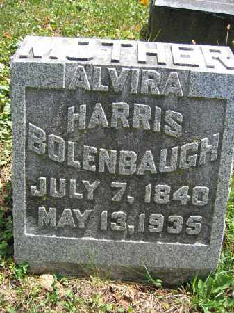 BOLENBAUGH, ALVIRA HARRIS - Union County, Ohio | ALVIRA HARRIS BOLENBAUGH - Ohio Gravestone Photos