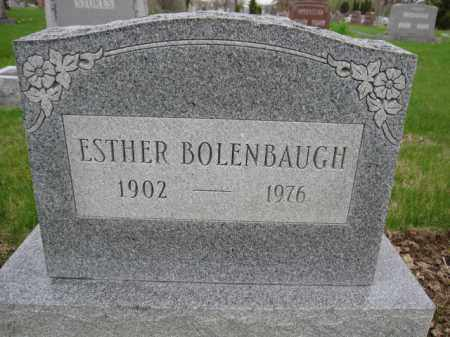 BOLENBAUGH, ESTHER - Union County, Ohio | ESTHER BOLENBAUGH - Ohio Gravestone Photos