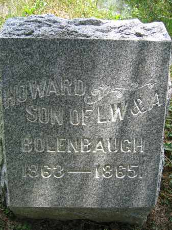 BOLENBAUGH, HOWARD - Union County, Ohio | HOWARD BOLENBAUGH - Ohio Gravestone Photos