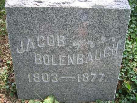 BOLENBAUGH, JACOB - Union County, Ohio | JACOB BOLENBAUGH - Ohio Gravestone Photos