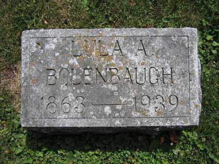 BOLENBAUGH, LULA A. - Union County, Ohio | LULA A. BOLENBAUGH - Ohio Gravestone Photos