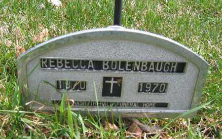 BOLENBAUGH, REBECCA - Union County, Ohio | REBECCA BOLENBAUGH - Ohio Gravestone Photos