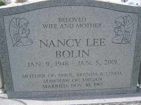 BOLIN, NANCY LEE - Union County, Ohio | NANCY LEE BOLIN - Ohio Gravestone Photos