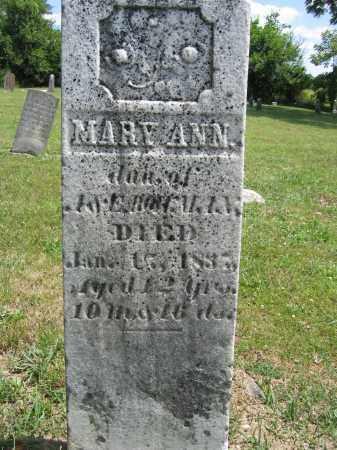 BOLLMAN, MARY ANN - Union County, Ohio | MARY ANN BOLLMAN - Ohio Gravestone Photos