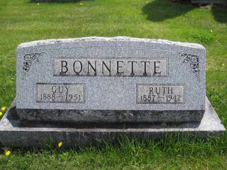 BONNETTE, RUTH PERKINS - Union County, Ohio | RUTH PERKINS BONNETTE - Ohio Gravestone Photos