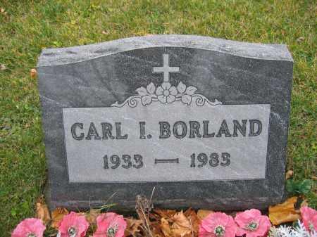 BORLAND, CARL I. - Union County, Ohio | CARL I. BORLAND - Ohio Gravestone Photos