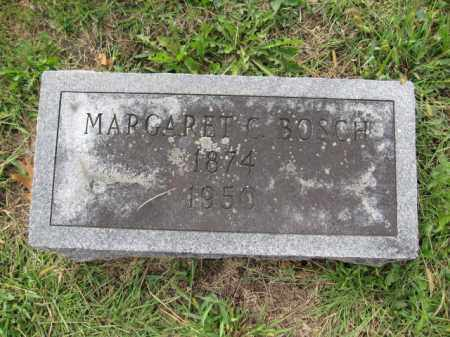 BOSCH, MARGARET C. - Union County, Ohio | MARGARET C. BOSCH - Ohio Gravestone Photos