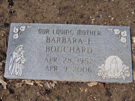 BOUCHARD, BARBARA E. - Union County, Ohio | BARBARA E. BOUCHARD - Ohio Gravestone Photos