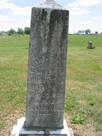 BOUGHAN, ELIZABETH - Union County, Ohio | ELIZABETH BOUGHAN - Ohio Gravestone Photos