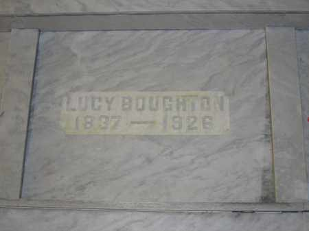 BOUGHTON, LUCY - Union County, Ohio | LUCY BOUGHTON - Ohio Gravestone Photos