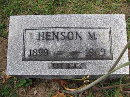 BOUIC, HENSON MARTIN - Union County, Ohio | HENSON MARTIN BOUIC - Ohio Gravestone Photos