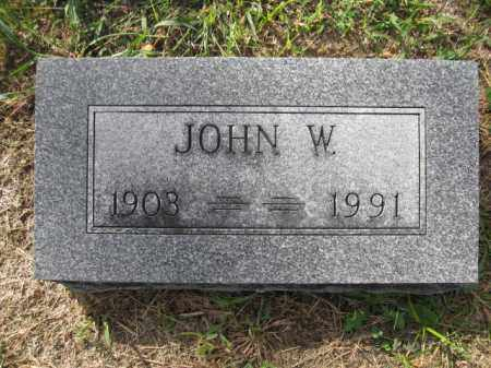 BOUIC, JOHN WASHINGTON - Union County, Ohio | JOHN WASHINGTON BOUIC - Ohio Gravestone Photos