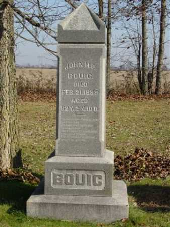 BOUIC, JOHN H. - Union County, Ohio | JOHN H. BOUIC - Ohio Gravestone Photos