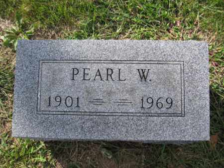 BOUIC, PEARL W. - Union County, Ohio | PEARL W. BOUIC - Ohio Gravestone Photos