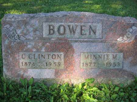 BOWEN, MINNIE M. - Union County, Ohio | MINNIE M. BOWEN - Ohio Gravestone Photos