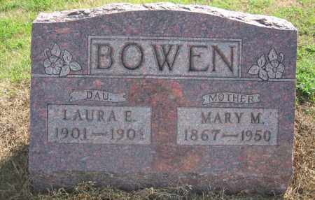 BOWEN, MARY M. - Union County, Ohio | MARY M. BOWEN - Ohio Gravestone Photos