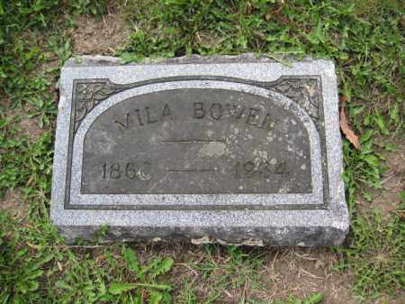 BOWEN, MILA - Union County, Ohio | MILA BOWEN - Ohio Gravestone Photos