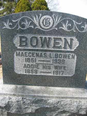 BOWEN, ADDIE - Union County, Ohio | ADDIE BOWEN - Ohio Gravestone Photos