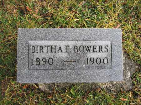 BOWERS, BIRTHA E. - Union County, Ohio | BIRTHA E. BOWERS - Ohio Gravestone Photos