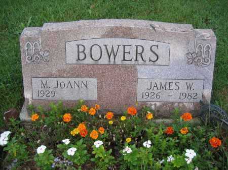 BOWERS, JAMES W. - Union County, Ohio | JAMES W. BOWERS - Ohio Gravestone Photos