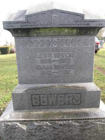 BOWERS, EMMA - Union County, Ohio | EMMA BOWERS - Ohio Gravestone Photos