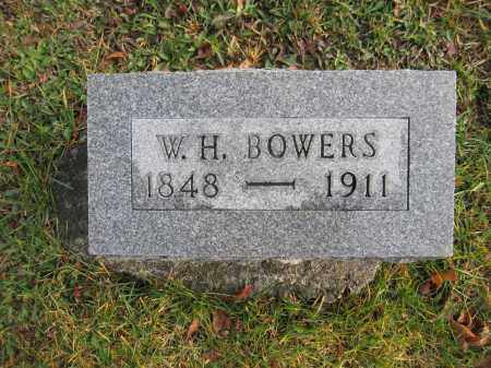 BOWERS, W.H. - Union County, Ohio | W.H. BOWERS - Ohio Gravestone Photos