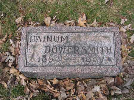 BOWERSMITH, BAINUM - Union County, Ohio | BAINUM BOWERSMITH - Ohio Gravestone Photos