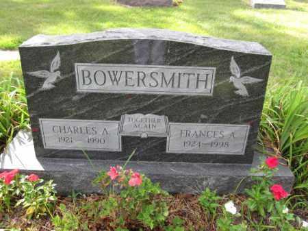 BOWERSMITH, CHARLES A. - Union County, Ohio | CHARLES A. BOWERSMITH - Ohio Gravestone Photos
