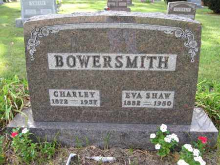 BOWERSMITH, EVA SHAW - Union County, Ohio | EVA SHAW BOWERSMITH - Ohio Gravestone Photos