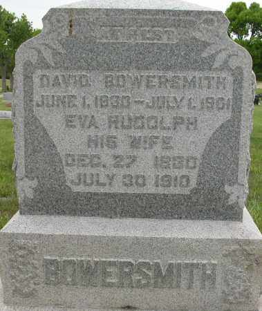 BOWERSMITH, DAVID - Union County, Ohio | DAVID BOWERSMITH - Ohio Gravestone Photos