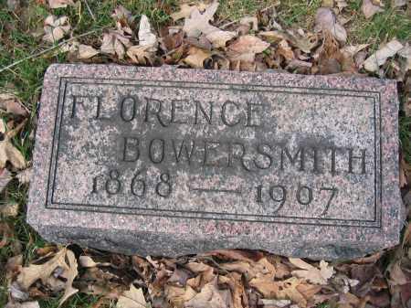 BOWERSMITH, FLORENCE - Union County, Ohio | FLORENCE BOWERSMITH - Ohio Gravestone Photos